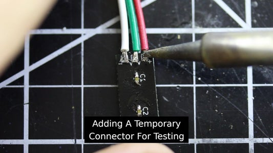 Testing the Custom LED Strips