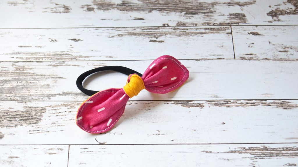 Picture of Knotted Bow Hair Tie