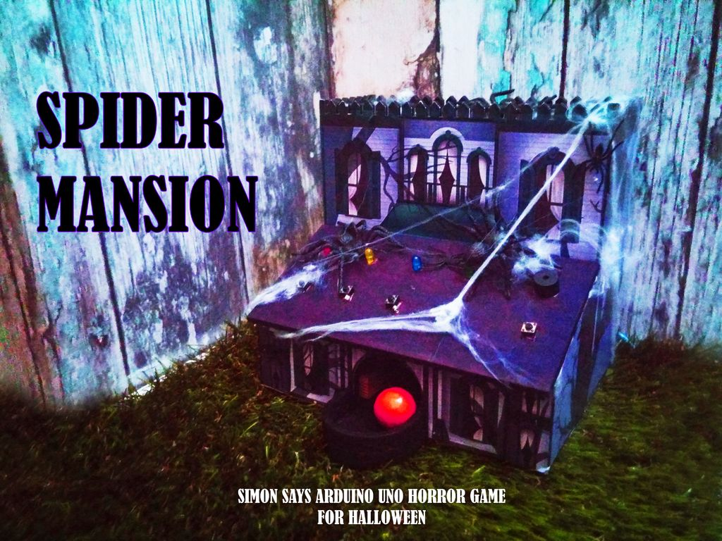 Picture of Spider Mansion (Simon Says Horror Game for HALLOWEEN)