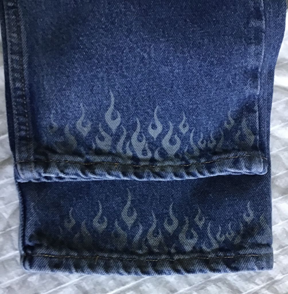Picture of Finished Jeans