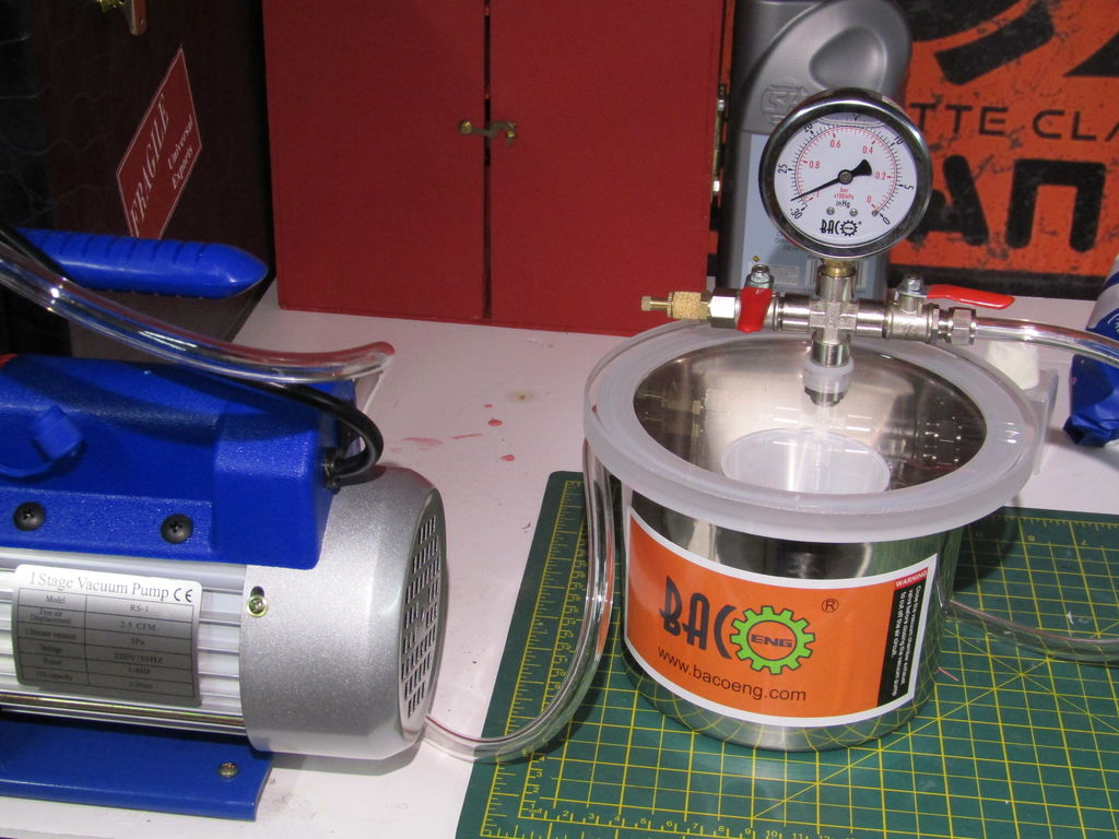 Picture of Vacuum Chamber Setup