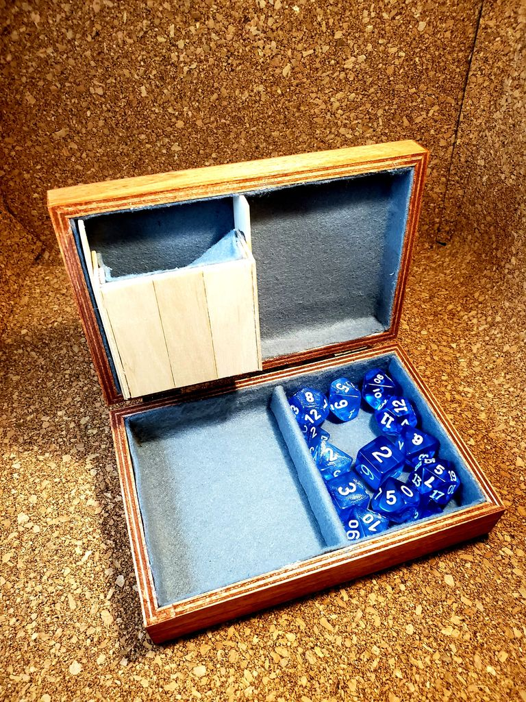 Picture of Dungeons and Dragons Dice Box
