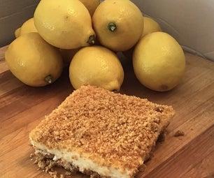 50年代风格,无烤柠檬甜品