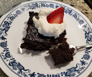 Fast & Easy Chocolate Cake