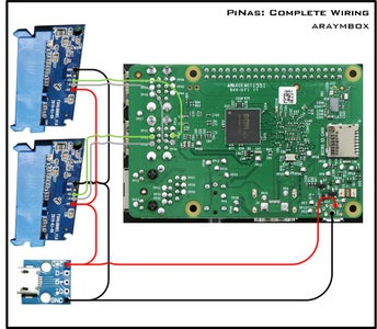 Wiring and Assembly: Raspberry Pi