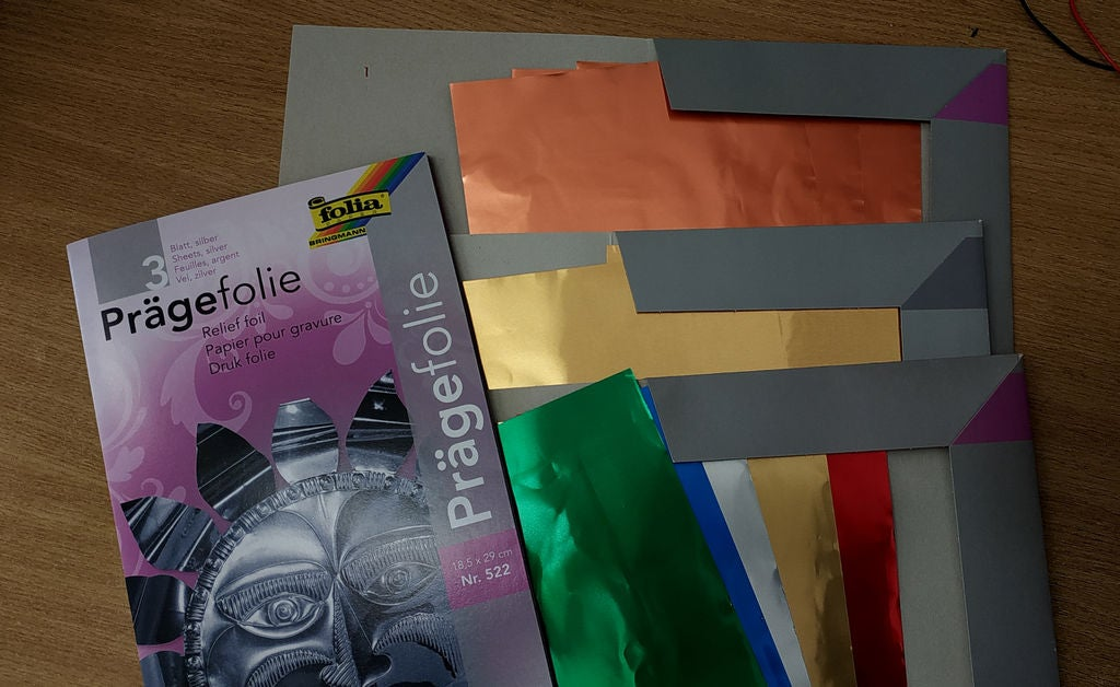 Picture of Materials, Tools, Process