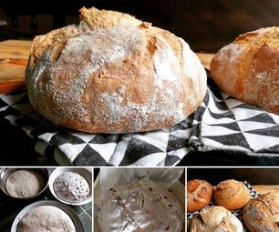 自己做酵母面包