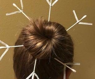 Ugly Snowflake Hairdo