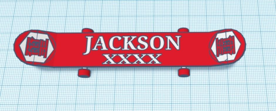 Picture of Jackson Skateboard