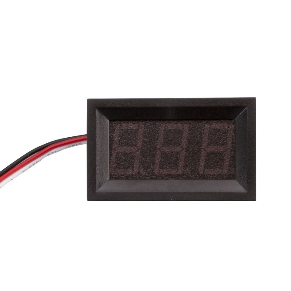 Picture of Conecting the Voltage Display