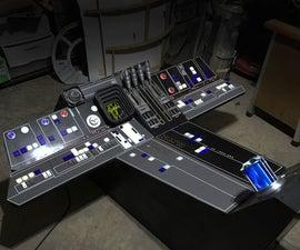 Millennium Falcon Dashboard (Full Scale Garage Build)