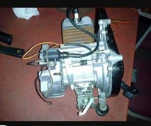 2 Stroke Engine Rebuild Plus Governor Removal