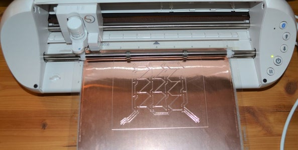 Cutting the Copper Foil