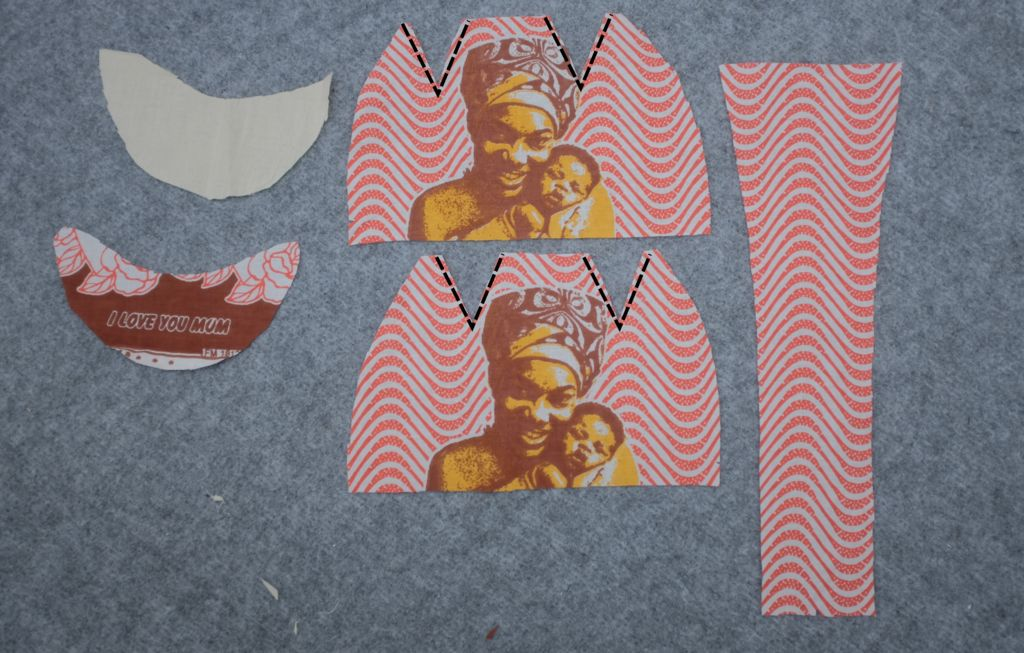 Picture of Sew Darts in Side Pieces