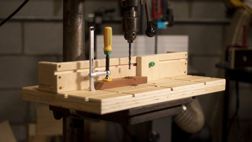 Picture of DIY Drill Press Table and Fence