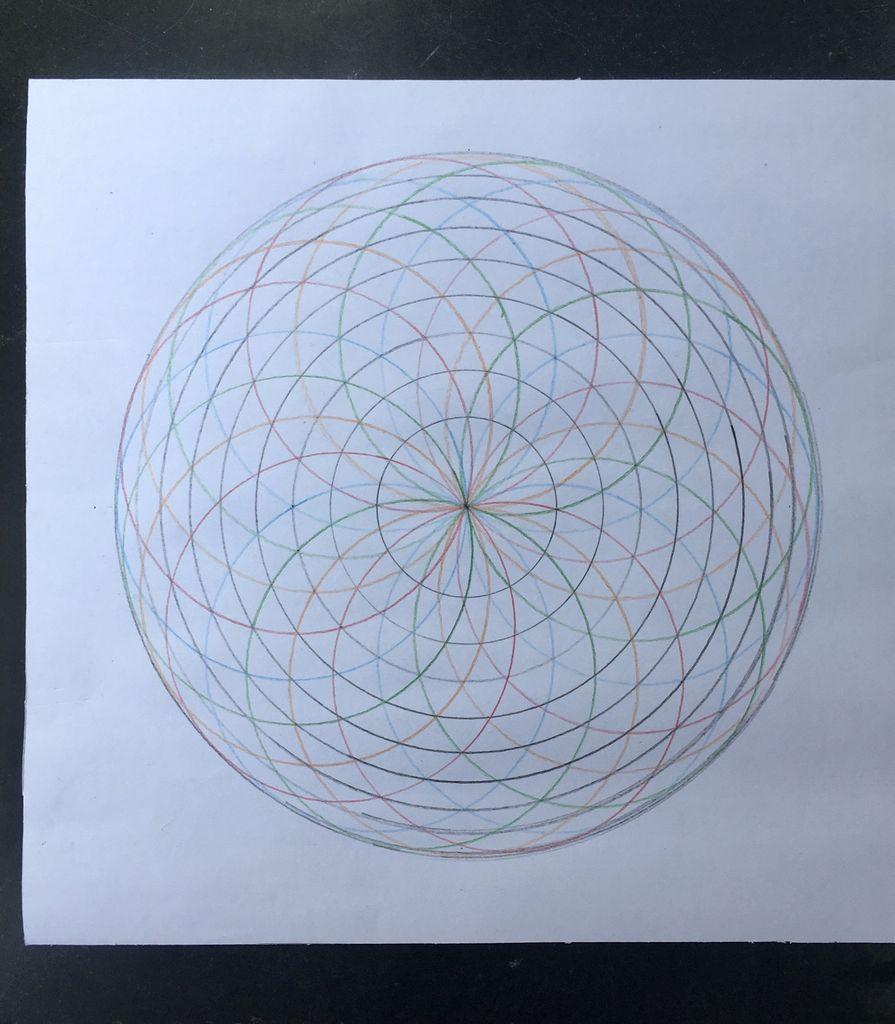 Picture of DIVIDE MANDALA CIRCLES
