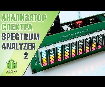 10 Band Led Spectrum Analyzer