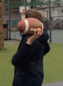 Step 3 Throwing the Ball