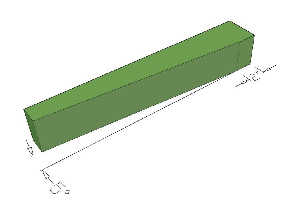 Picture of Step-2 Make a 5° Cut on One Side of Each Leg