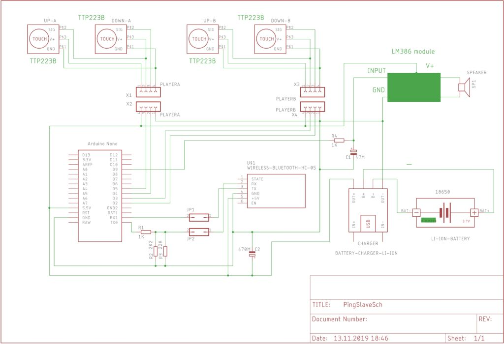 Picture of Wiring Diagram - Table Unit