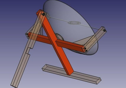 Attach a Crossbar to the Front Leg