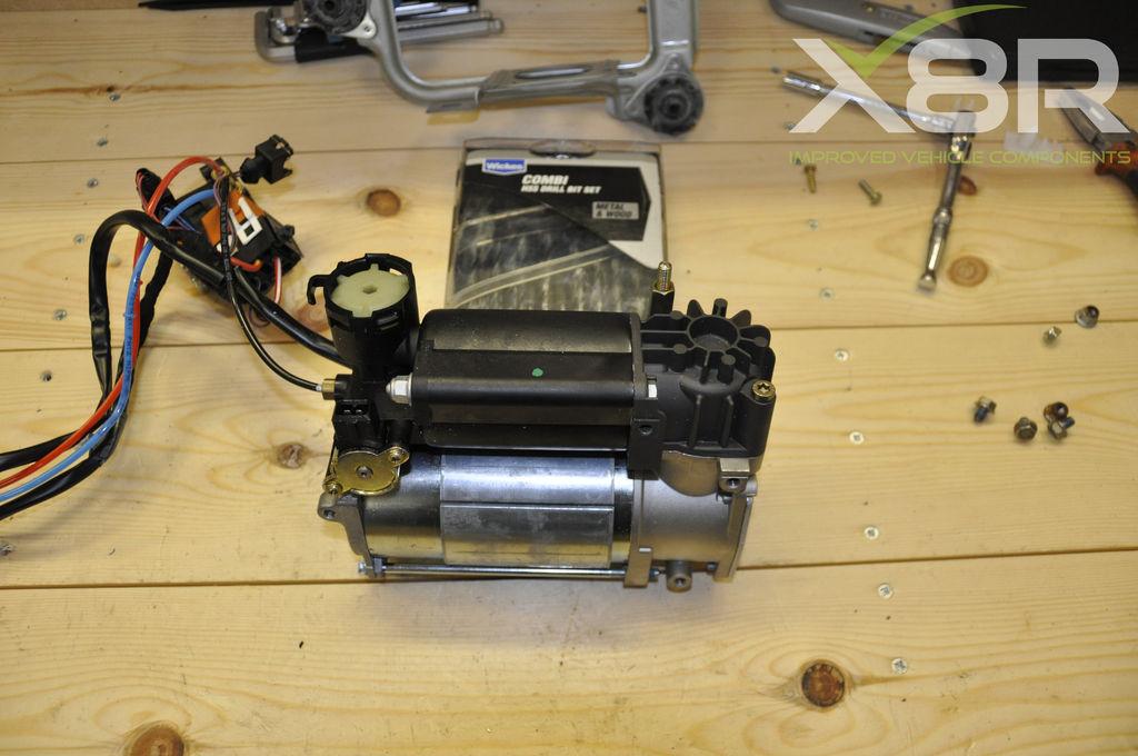 BMW X5, 5 & 7 Series Air Suspension Compressor Removal: 5 Steps