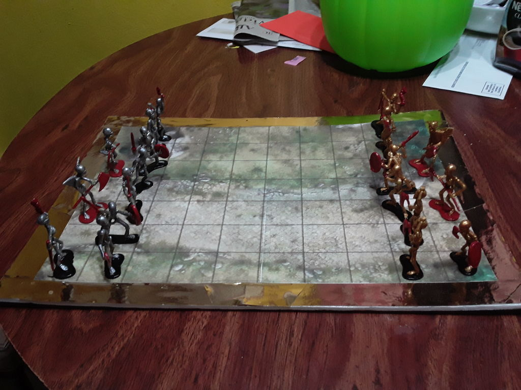 Picture of Skeleton Wars Board Game.