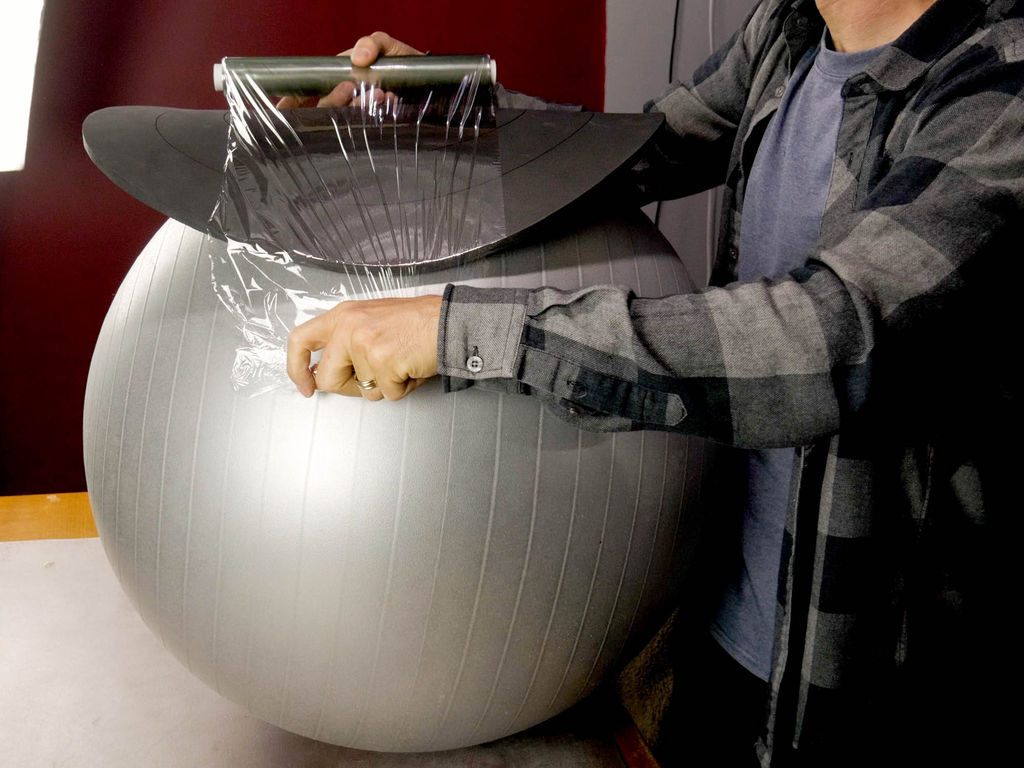 Picture of Go Crazy With Cling Wrap