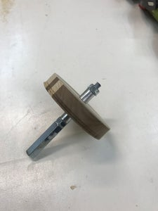 Pulley Drill Clamp