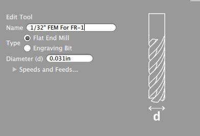 Customize Your Tool Feeds and Speeds (optional)