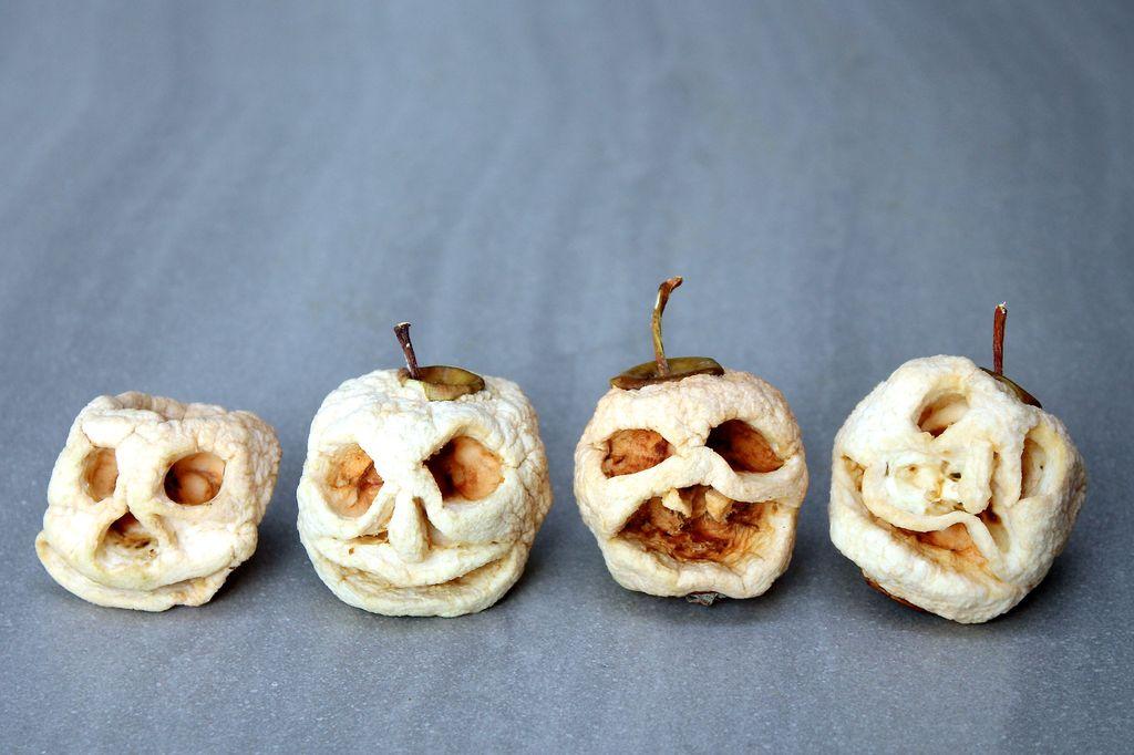 Shrunken Apple Head Doll Some Shrunken Apple Heads