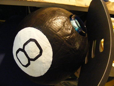 Giant Magic 8 Ball