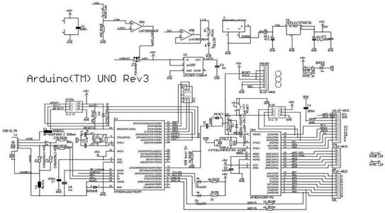 Dominating the Arduino UNO Electronic Schematic
