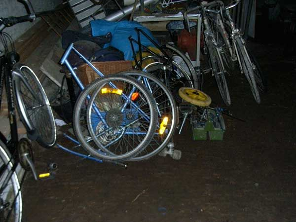 Picture of Take the Bikes Apart With Handtools.