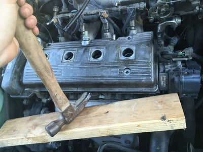 Remove Valve Cover, and Take Out Old Gasket and Spark Plug Seals