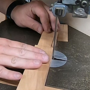 Cutting the Tennon in the Handle