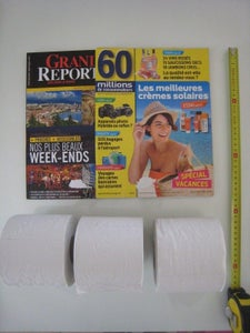 Some Reading in the Toilets...
