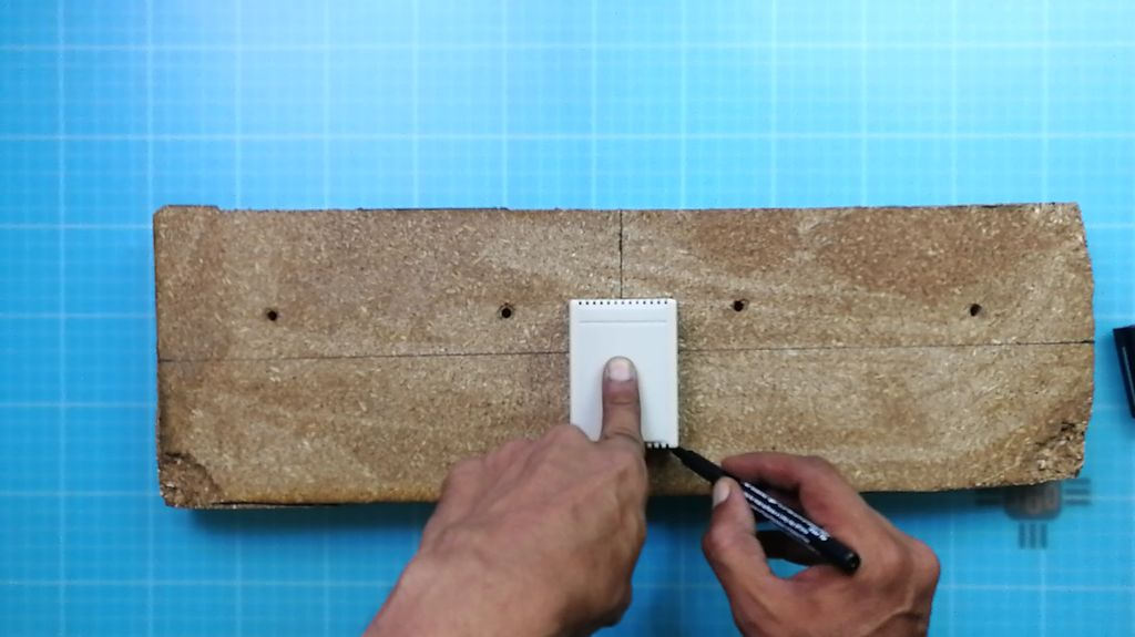 Picture of Wooden Base Bottom Part Preparation and Top Part Covering
