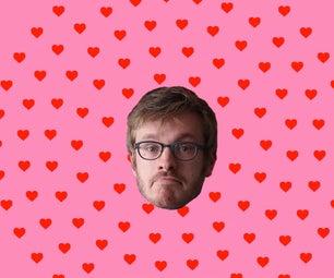 Super Last Minute DIY Valentine's Day Card