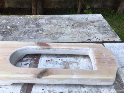 Apply Wood Filler, Let It Dry, and Sand It