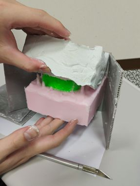 Picture of Step 7: Remove Mold Box and Clay