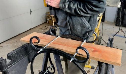 Make Needed Adjustments to Firewood Rack