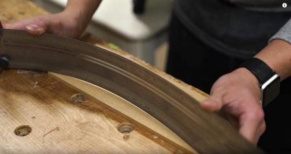 Curved Reveal / Finger Pull for Drawer Fronts