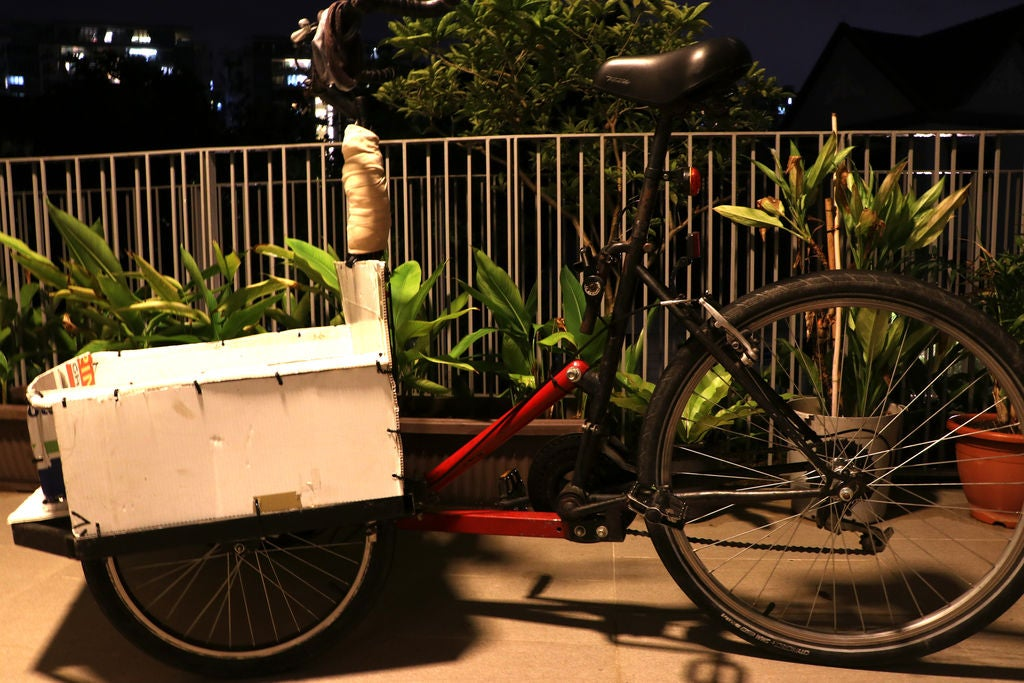Picture of DIY Cargo Bike From an Old Mtb