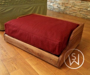 I Made a Dog Bed... for a Dog (Without a Dog)