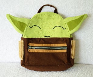 Baby Yoda Backpack