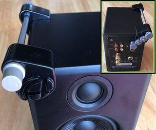 A2的Audioengine +扬声器音量重新定位器