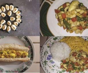 Stir Fry Ackee & Mixed Vegetables