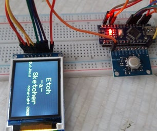 Learning About Interrupts to Make Etch-a-sketch With Arduino