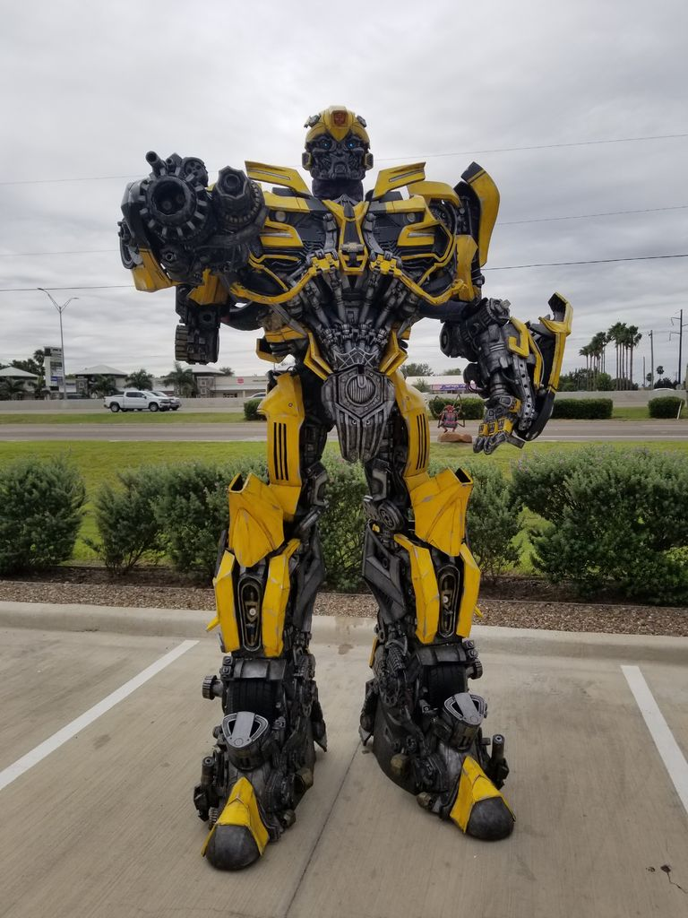 Picture of Creating a Transformer Costume